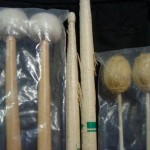Drumsticks and Mallets in Stick Bag