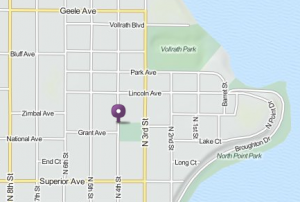 Sheboygan Drum Lessons Map