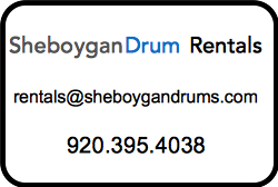Drum Rental Sheboygan