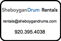 Drum Rental Sheboygan