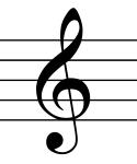 clef treble